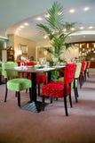 Restaurant à l'intérieur Images stock