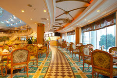 Restaurant. Classical european style restaurant in China Royalty Free Stock Photography