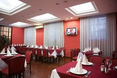 Restaurant. stock afbeelding