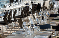 Restaurant stockbilder
