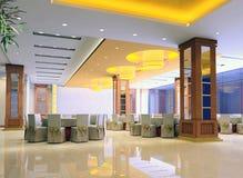 restaurant 3d moderne Images stock
