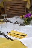 Restaurant Lizenzfreie Stockfotografie