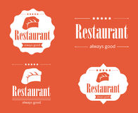 Restaurant illustration stock