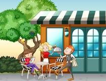 Restaurant stock illustratie