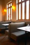 Restaurant. Bistro indoor Royalty Free Stock Images