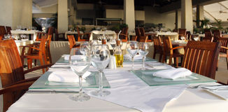 Restaurant royalty-vrije stock foto's