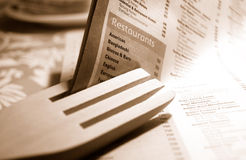 Restaurant photographie stock