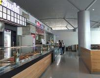 Restaurant at the airport in Da Nang, Vietnam Royalty Free Stock Photos