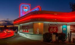 Restaurant 66 Albuquerque, Nanometer lizenzfreie stockfotografie