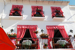 Restaurant in Andalusia Royalty Free Stock Images