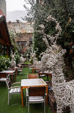 Restaurant in Andorra la Vella Royalty Free Stock Photography