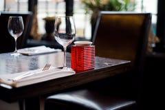 Restaurant anglais Photographie stock libre de droits