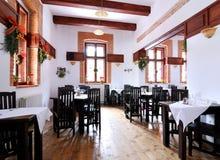 Restaurant arrangement Stock Images
