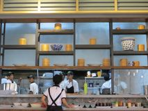 Restaurant asiatique dans Tangerang Photographie stock