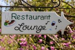 Restaurant, Aufenthaltsraum stockfotos