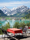 Restaurant in austria Royalty Free Stock Photography