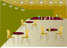 Restaurant background Stock Photography