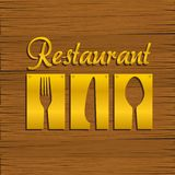 Restaurant background Royalty Free Stock Photo
