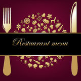 Restaurant Background. Vector Stock Photography
