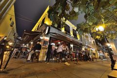 Restaurant and Bar exterior design Royalty Free Stock Image