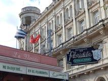 RESTAURANT-BAR FLORIDITA, HAWAŃSKI, KUBA Zdjęcie Royalty Free