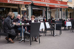 Restaurant and Bar Saint-Tropez Stock Photography