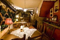 Restaurant in basement Royalty Free Stock Photo