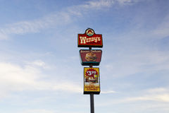 Restaurant Billboard Royalty Free Stock Image