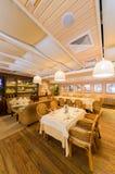 Restaurant binnenlands schot Stock Foto's