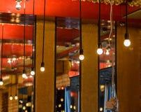 Restaurant binnenlands schot Royalty-vrije Stock Afbeeldingen
