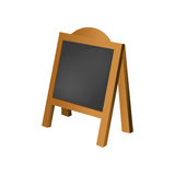 Restaurant blackboard advertising Royalty Free Stock Photo