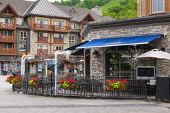 Restaurant in Blue Mountain Village, Collingwood, Canada Royalty Free Stock Photo