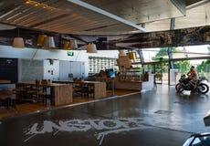 Restaurant of BMW Welt(world) Stock Image