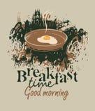 Restaurant with breakfast Stock Photos