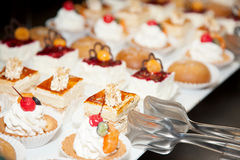 Restaurant buffet reception cake photo 13 Royalty Free Stock Images