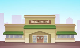 Restaurant Building Royalty Free Stock Photography