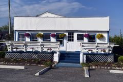 Restaurant Montauk, New York. Restaurant building in Montauk, New York Royalty Free Stock Photo