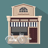 Restaurant buildings set  illustration cartoon cafe bistro diner coffee house. Illustration realistic object  background Stock Photo