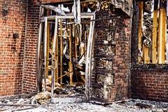 Restaurant Burnt-down Stock Photos