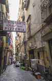 Restaurant célèbre - pizzeria Image stock