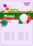 Restaurant (cafe) menu Stock Image