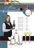 Restaurant (cafe) menu Stock Photos