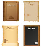 Restaurant and cafe menu design Stock Photography