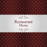 Restaurant or cafe menu design. Vector Royalty Free Stock Photo
