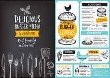 Free Restaurant Cafe Menu, Template Design. Royalty Free Stock Photos - 67469378