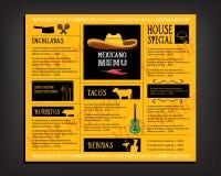 Restaurant cafe menu, template design. Food flyer. Royalty Free Stock Photos