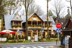 Restaurant called Little Switzerland in Zakopane Royalty Free Stock Images