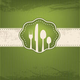 Restaurant card Royalty Free Stock Photo