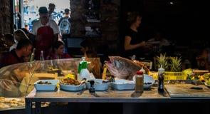 Restaurant Catanië Royalty-vrije Stock Fotografie