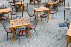 Restaurant chair Stock Photos